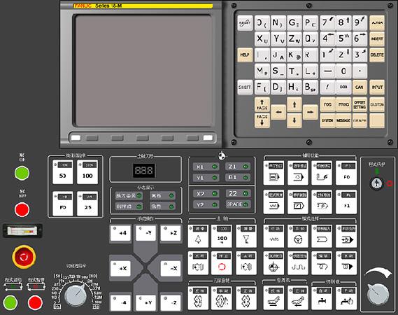 Fanuc 18M Control