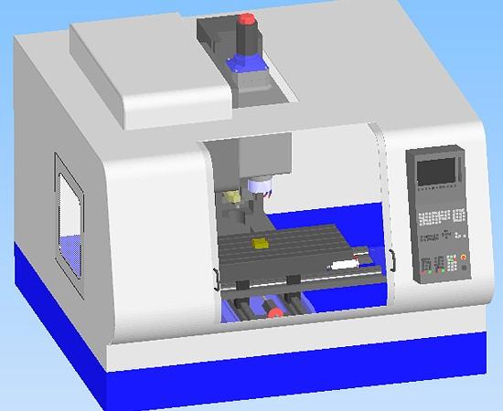Lathe 3D Model