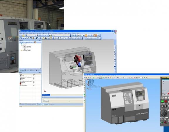 Real CNC Machine