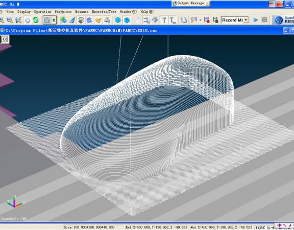 Milling 3D Model