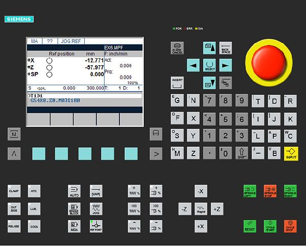 Siemens Control 801