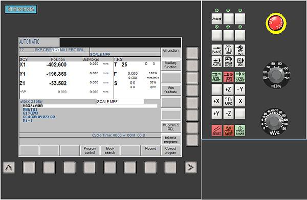Siemens Control 840DM