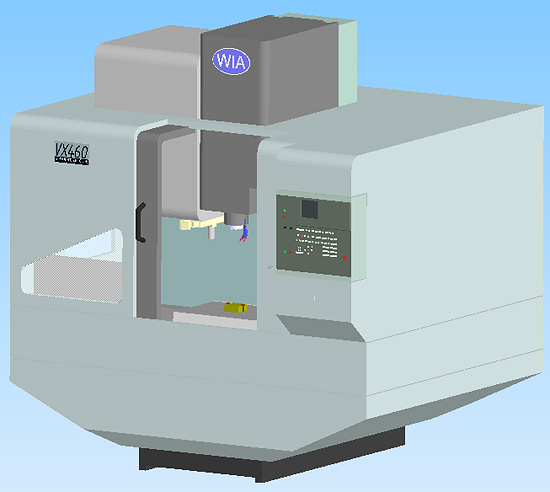 Lathe Machine 3D